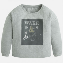 MAYORAL SWETER wake up be happy 7430 kolor 28