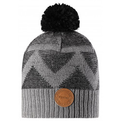Wełniana czapka Reima zimowa Nikkala 528603 kolor 9401