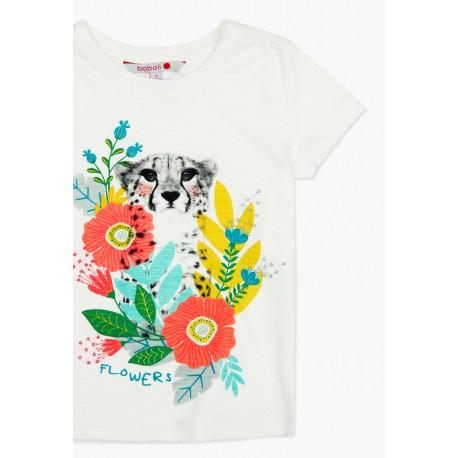 T-shirt z krótkim rękawem 3-8lat dla dziewczynki