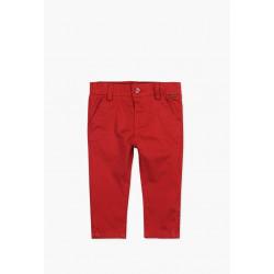 Boboli eleganckie spodnie 3mies-4 lata bordowe