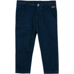 Boboli eleganckie spodnie 3mies-4 lata granatowe