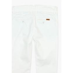 Boboli Eleganckie białe spodnie chłopięce 3-8 lat