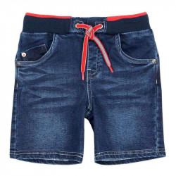 Boboli Jeansowe krótkie spodenki chłopięce 3-8 lat